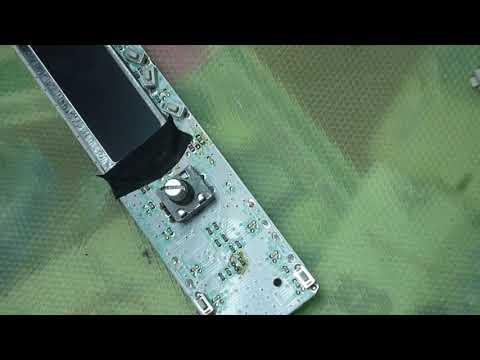 Ремонт панели от автомагнитолы Hyundai