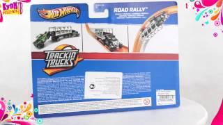 Hot Wheels Машинки Трек Трейлер Y0185) Road Rally
