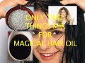 Magical herbal hair oil with just two ingredients, every one hair problems solve in just few day