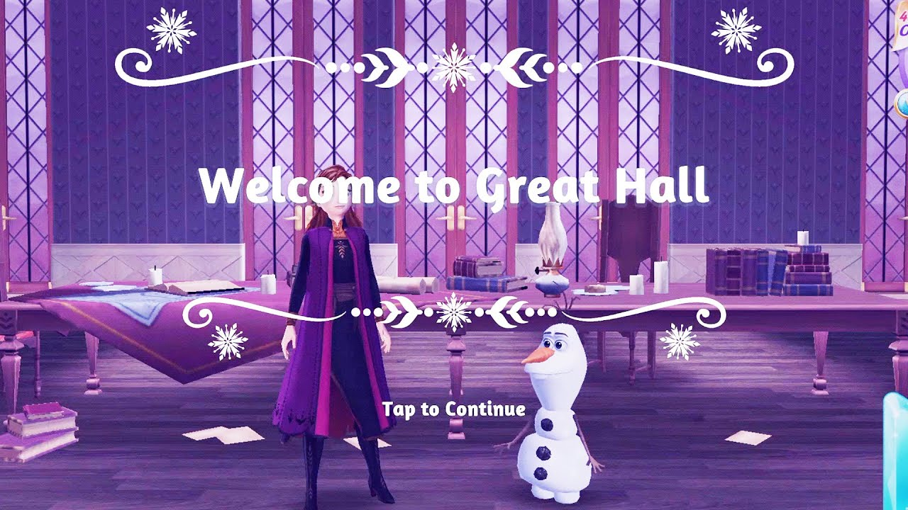 Frozen Adventures #3 Game - Myth of the Great Hall Decoration