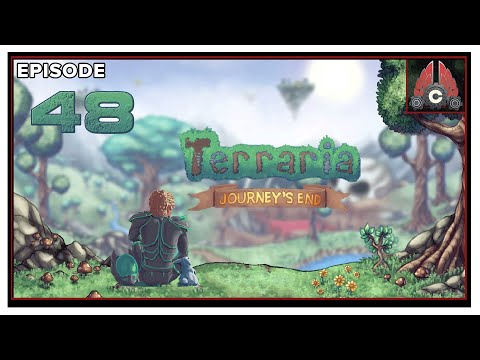 Let's Play Terraria: Journey's End (Master/Large/Crimson) With CohhCarnage - Episode 48