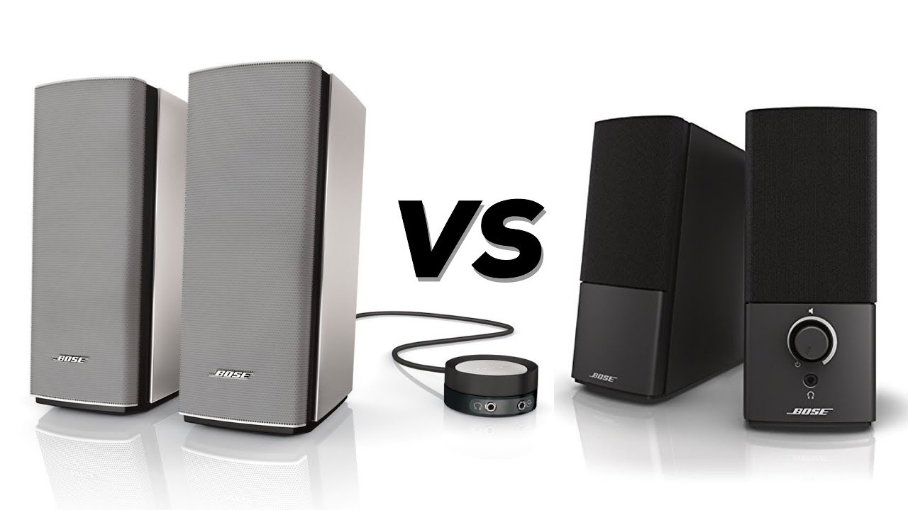 bose companion 20 vs companion 2 series 3 review comparison youtube. Black Bedroom Furniture Sets. Home Design Ideas