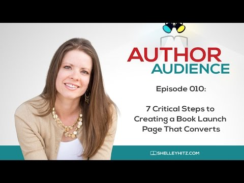 7 Critical Steps to Creating a Book Launch Page That Converts