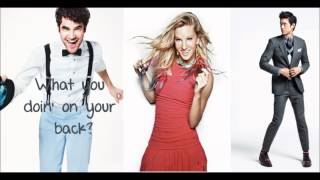 You Should Be Dancing - Glee Cast DISCO LYRICS