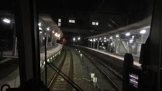 JR奈良線221系D快速 京都→JR六地蔵 前面展望