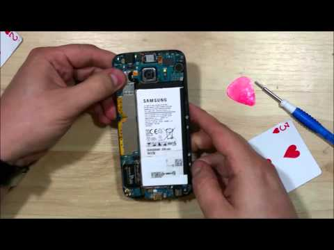 Samsung Galaxy S6 Disassembly - First Teardown - Phone has never been opened.