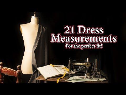 21-dress-measurements:-great-measurements-for-making-custom-dress-sets