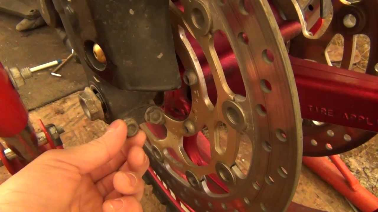 how to change a front tire