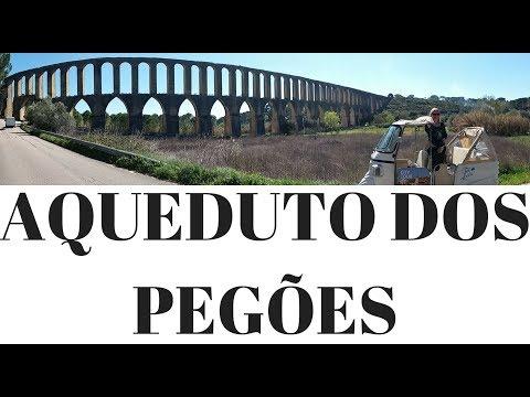 Aqueduto dos Pegões - Minha vida em Portugal