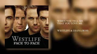 Download Westlife - When You Tell Me That You Love Me ft. Diana Ross (Video Mix HQ) 1080p