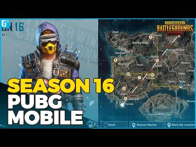 SEASON 16 TELAH HADIR! MENCOBA EVENT METRO ERANGEL! - Gameplay | PUBG Mobile