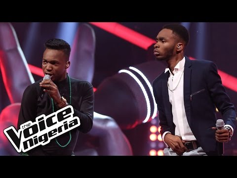 Daivy Jones vs Joe Blue sing 'Oliver Twist' / The Battles / The Voice Nigeria 2016