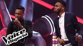 Daivy Jones vs Joe Blue sing 'Oliver Twist' / The Battles / The Voice Nigeria 2016
