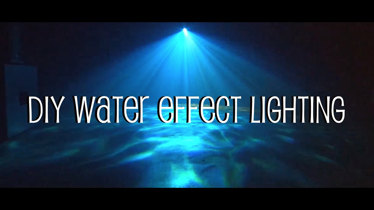 Diy Water Effect Lighting