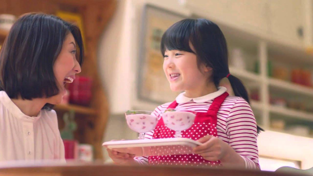 来_ハウス食品フルーチェ「本田紗来登場」本田紗来-YouTube
