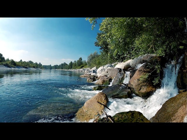 Forest Waterfall Relaxing Video - Nature Waterfall Sound - Meditation Relax Your Body
