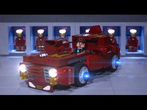 Lego Iron Man's New Car