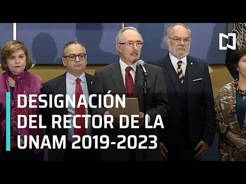 Resultados de la elección para Rector de la UNAM 2019-2023