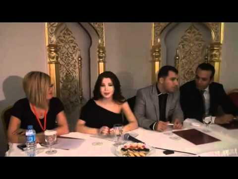Nancy Ajram Press Conference In Turkey.mp4
