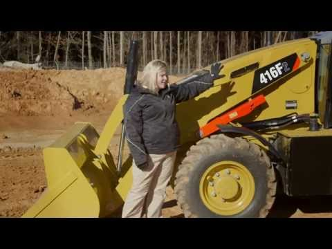 Cat® 416F2 Backhoe Loader Overview (Malaysia)
