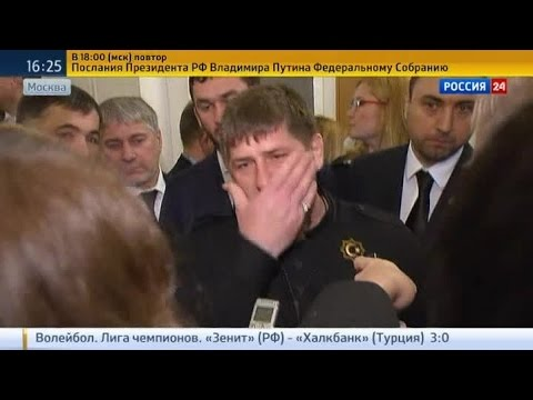 Смотреть Кадыров отомстит ИГ за обезглавленного чеченца онлайн
