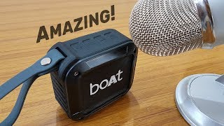 Boat Stone 200 Sound Test, Review & Bass Test (Hindi) – This Compact Bluetooth Speaker is Amazing!