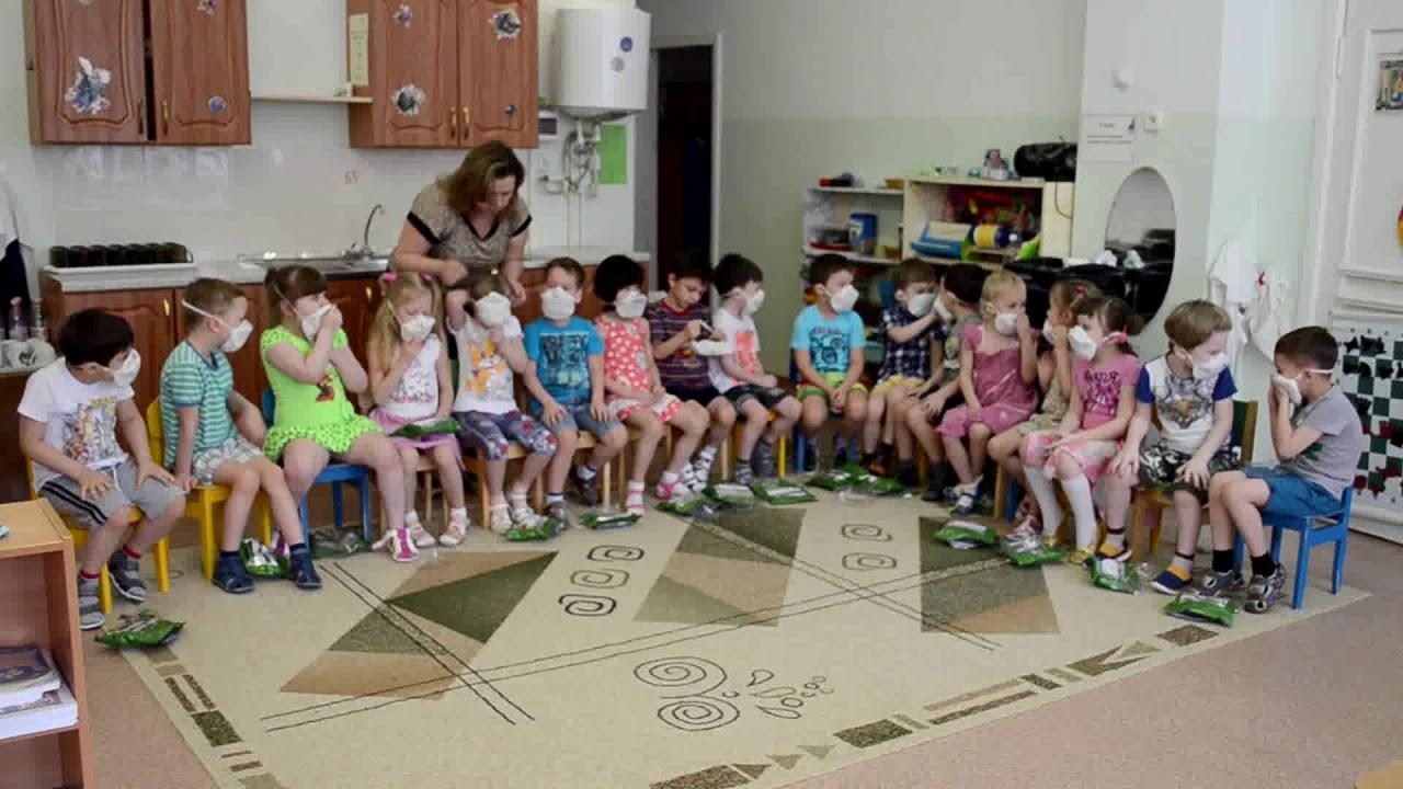 Учебная эвакуация при пожаре в детском саду