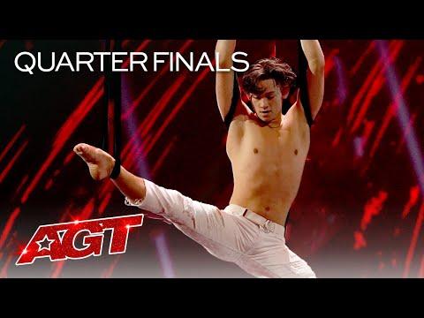 Aidan Bryant Performs Unbelievable Aerial - America's Got Talent 2021