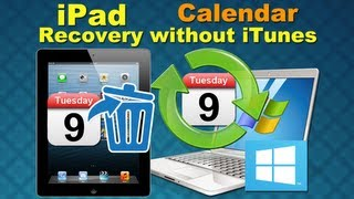 Dr.Fone for iPad Data Recovery: How to Retrieve Deleted Calendar from iPad/the new iPad directly