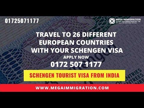Schengen Tourist Visa from India | Schengen Tourist Visa Requirements 2018