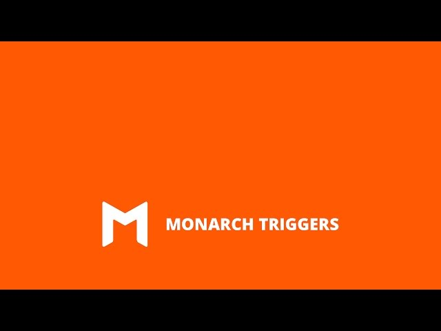 Using Popup And Flyin Triggers In Monarch