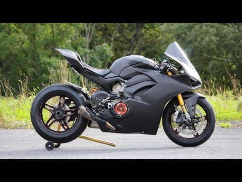 $70,000 Carbon V4 Panigale Complete!!!