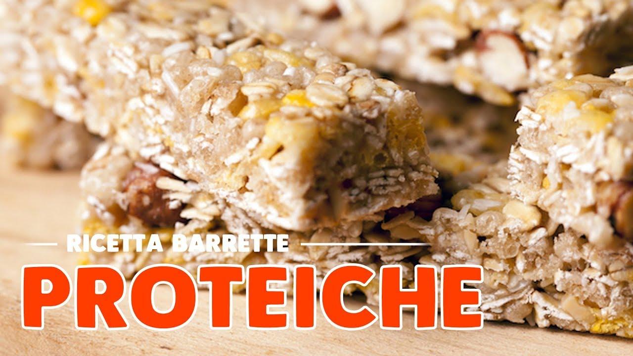 barrette proteiche fatte in casa morbidissime - youtube