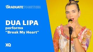 "Cover images Dua Lipa Performs ""Break My Heart"" | #GraduateTogether"
