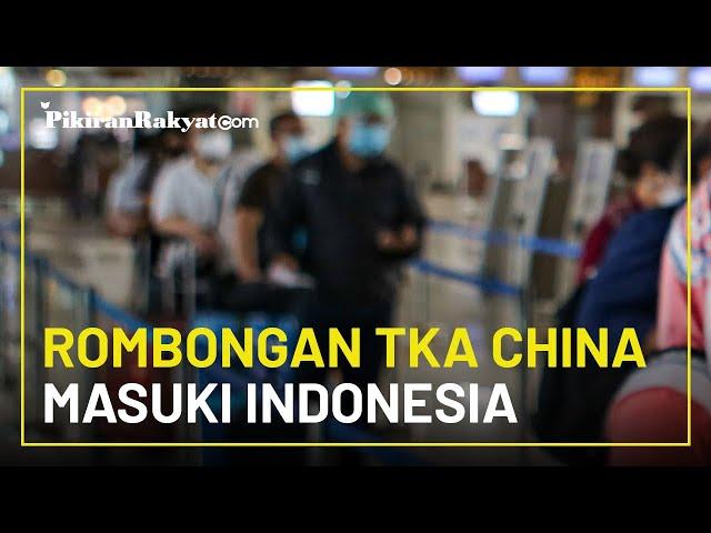 Ratusan TKA China Tiba di Bandara Soetta saat Indonesia Lockdown, Ditjen Imigrasi Buka Suara