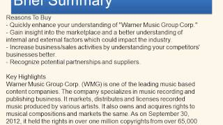 Warner Music Group Corp    Technology and Communications   Company Profile - Reports Corner