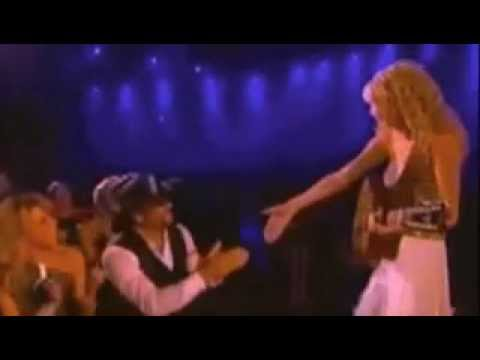 Tim McGraw (Live at the ACMS 2007) - Taylor Swift - Singing