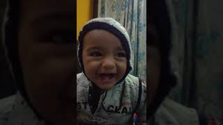 Laughing baby voice