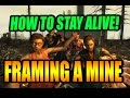 7 Days To Die | Framing Out A Mine | How To Stay Alive