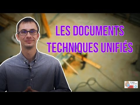 Les Documents Techniques Unifiés (DTU)