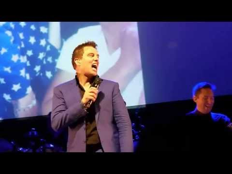 John Barrowman - Listen to the Music (with funny brief intro)