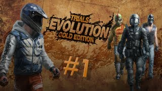 Trials Evolution: Gold Edition - 100% Gameplay Walkthrough Part 1 - No Problemo!