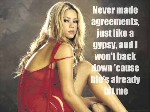 Shakira-Gypsy lyrics