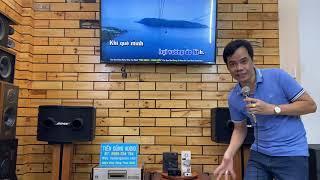 SETUP DÀN LOA CHUYÊN NGHIỆP BOSE 802 II & LOA BOSE 502B. Tiến Dũng Audio Sài Gòn