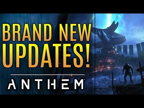 Anthem - New Updates! New Content Beyond Sunken Stronghold. State of Bioware!