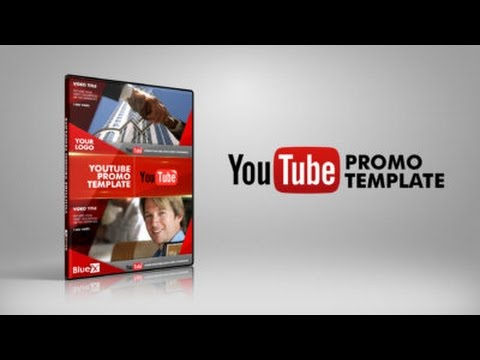 After Effects Template Youtube Promo