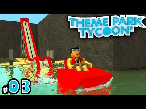 NEW Theme Park Tycoon! Ep. 3: NAUTIC JET Water Ride!! | Roblox