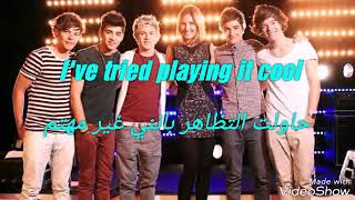 One direction - one thing مترجمة عربي