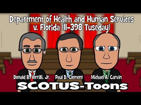 Department of Health and Human Services v. Florida Pt. 2 (SCOTUS-Toons)