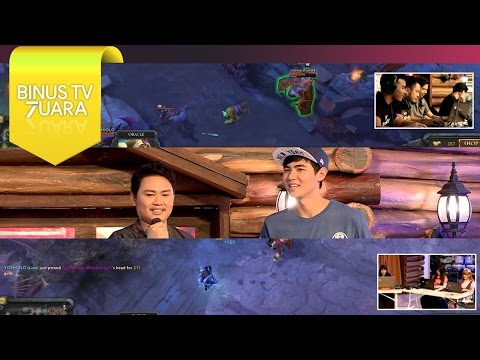 #BINUSTV7UARA - DOTA 2 Versus - YouTubers VS Gamers